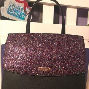Kate Spade NY Laurel Way Glitter Alisanne Satchel